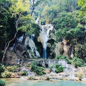 ルアルパバーンの滝