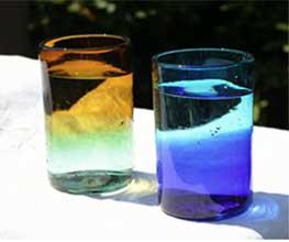 リサイクルガラスを使った環境に優しく、おしゃれなグラス