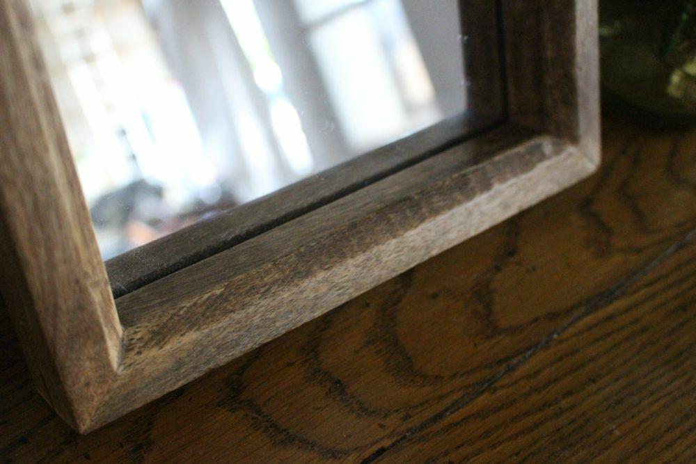 La Vie Wood フレームミラー