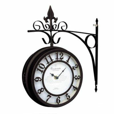 オールドストリート壁掛け時計/ブラック