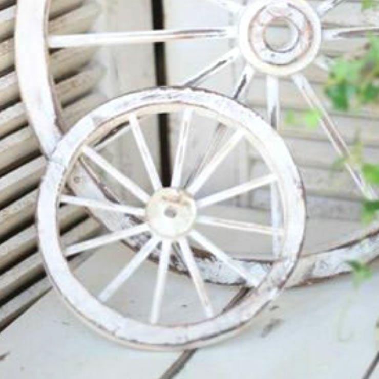 木製車輪飾り