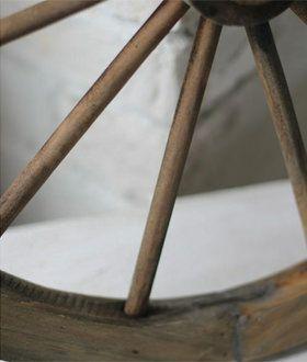ガーデン雑貨車輪