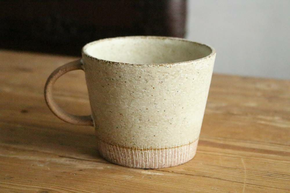 美濃焼のデカマグ・削りソイミルク