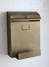 自宅用のおしゃれな郵便ポスト