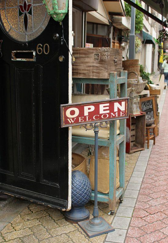 ◆Open-closed サインスタンド