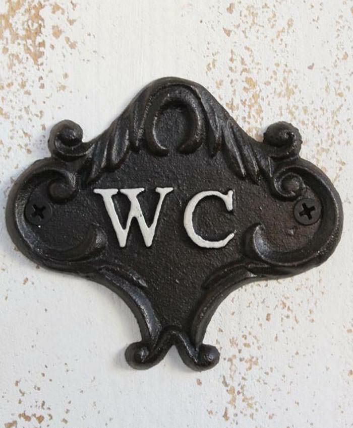 MALTOオリジナルサインプレート W.C