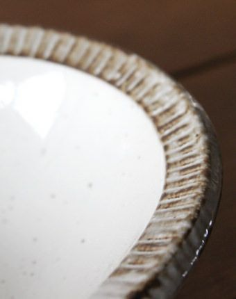 美濃焼・ふちさびカレー皿
