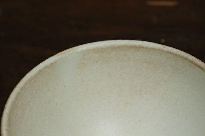 益子焼・キナリしのぎ飯碗