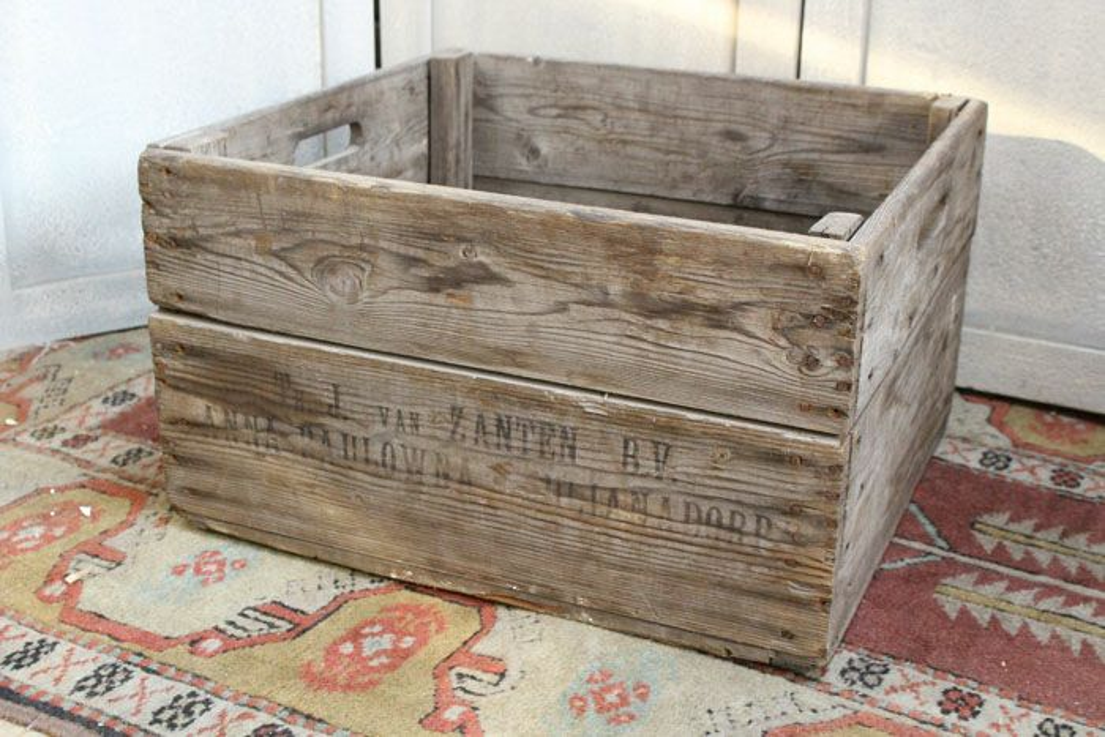 アンティーク木箱・キャベジ