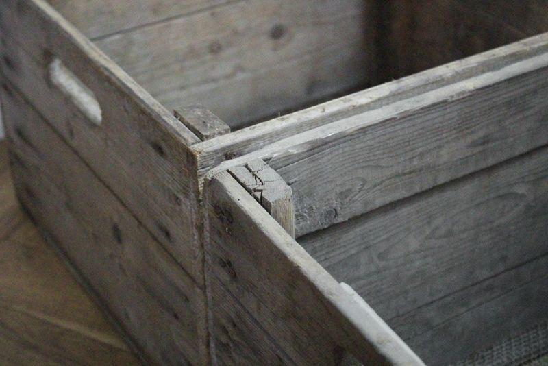 木箱ディスプレイ