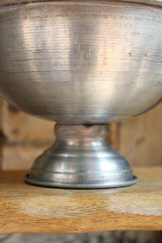 ブリキのカップボウル