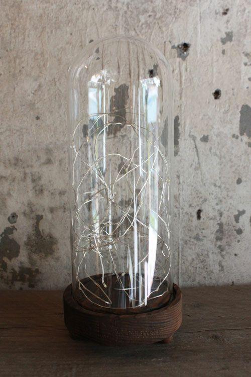 LEDガラスドームライト(Lサイズ)