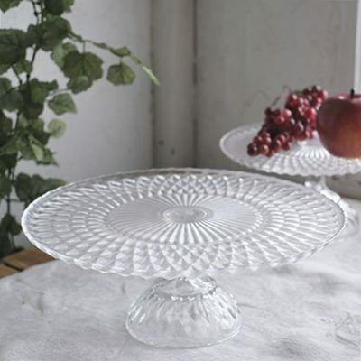 食卓が華やぐガラスコンポート