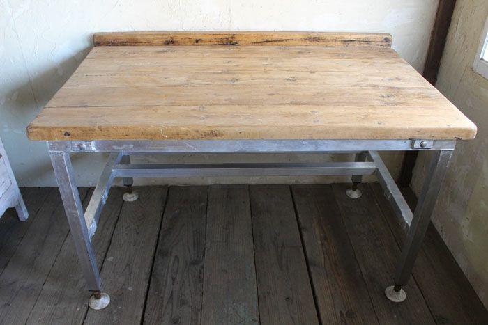 ヴィンテージ・ワークテーブル