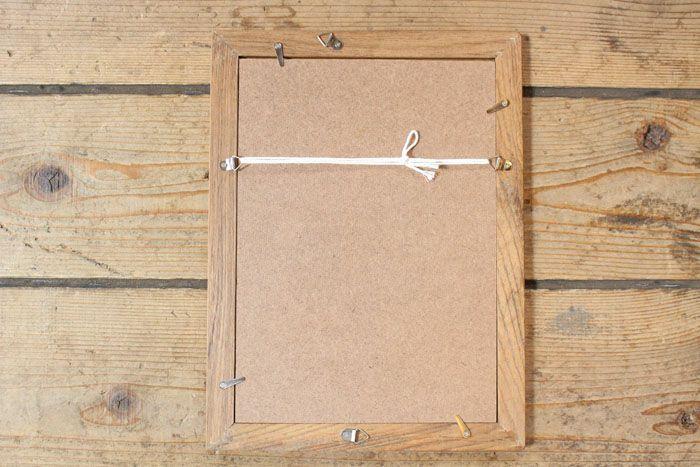 ウッドフェンス・ピクチャーフレーム(A4サイズ)