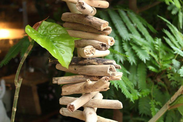 流木のハンギングオブジェクトMiddle