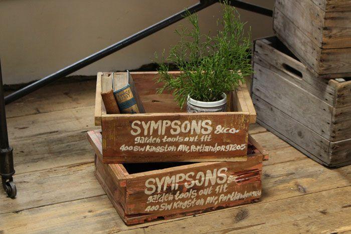 シンプソンズ・チークウッドボックス