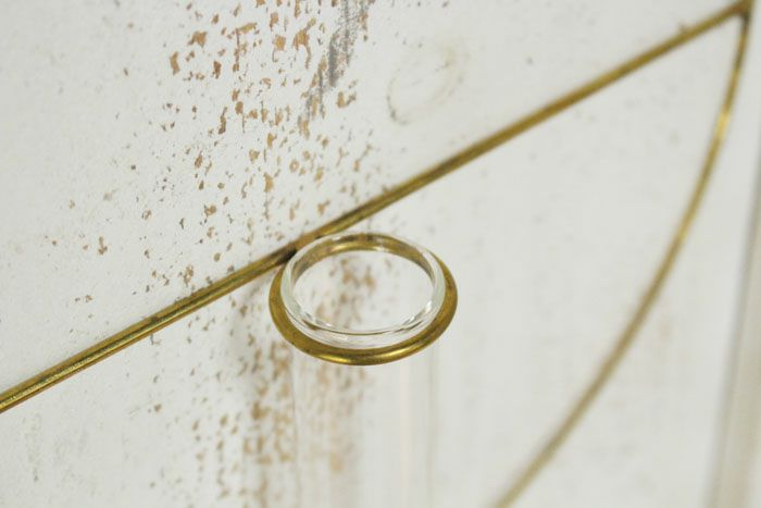 オリビア・壁掛けフラワーベース