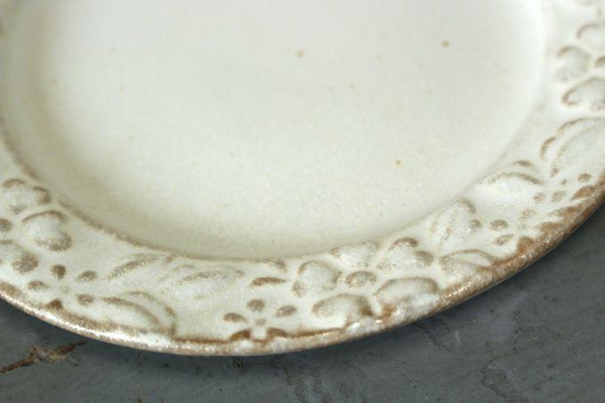 益子焼・ガーデンプレート皿