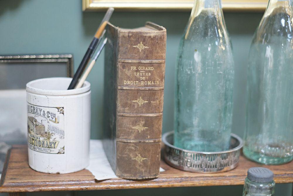 アンティーク・レザーブック18世紀前期~19世紀前期