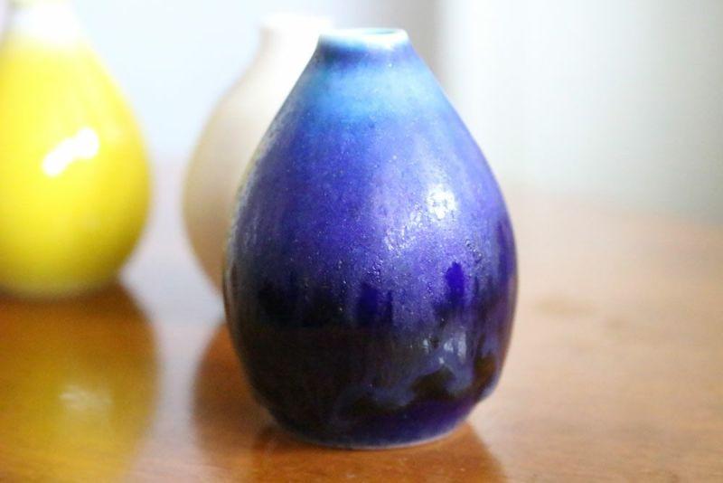 ブルーの綺麗な釉薬