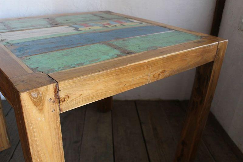 オールドチークを使った家具