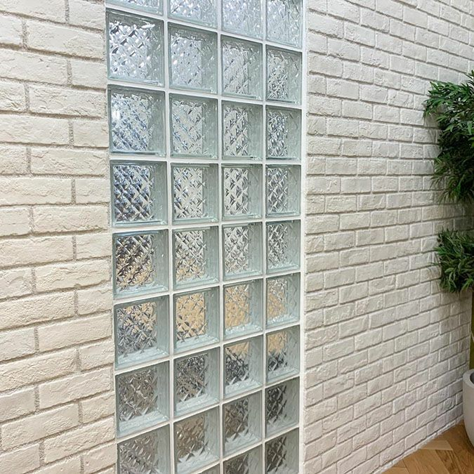 外装に使用するガラスブロック