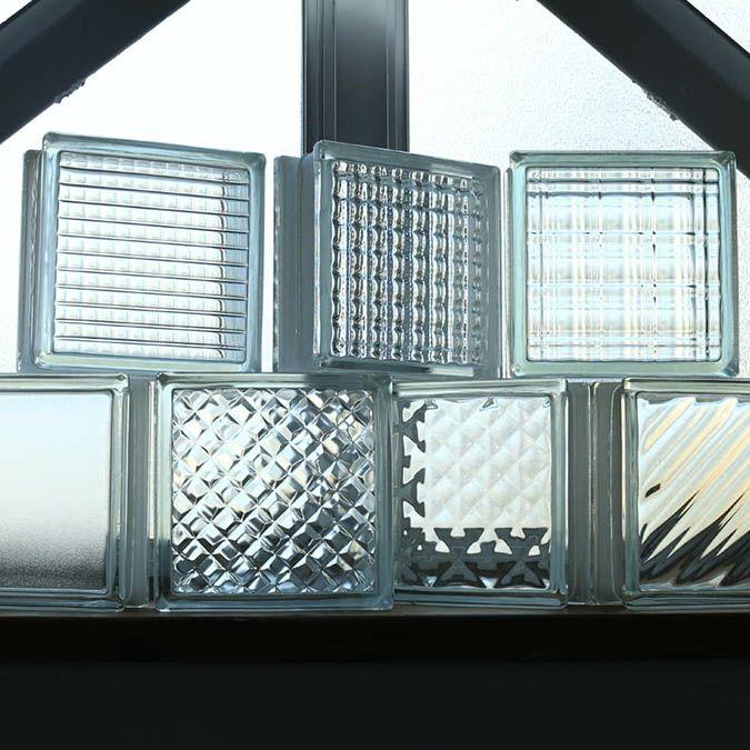 エントランスの外構にも人気のガラスブロック