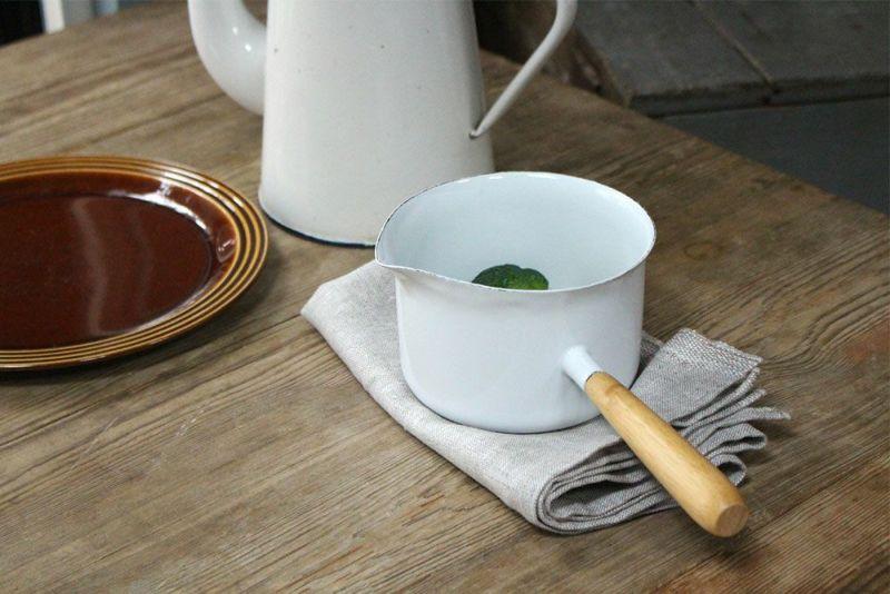琺瑯の片手鍋