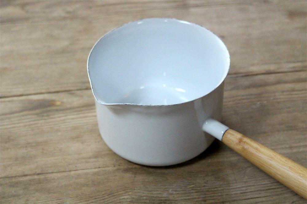 琺瑯 ホワイトミルクパン