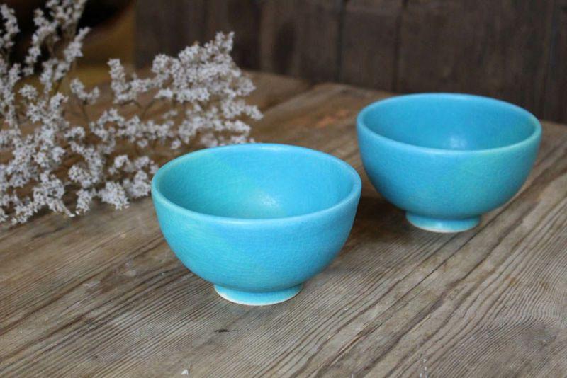 笠間焼の茶碗