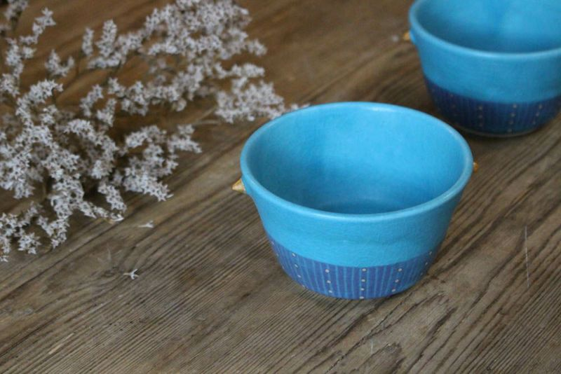 笠間焼の耳付きの小鉢