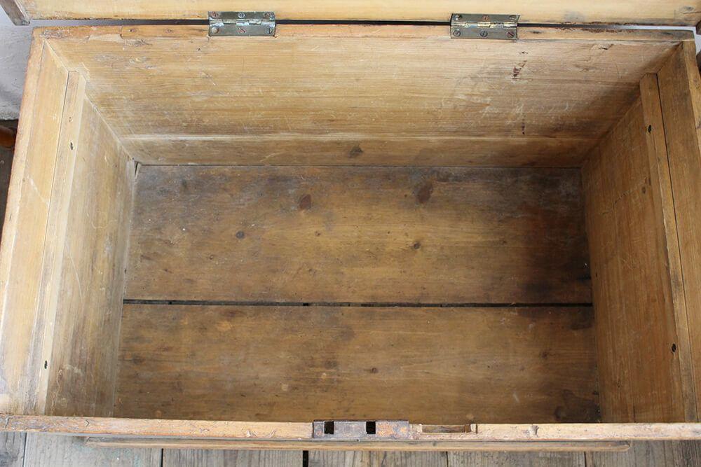 アンティーク・ブランケットボックス