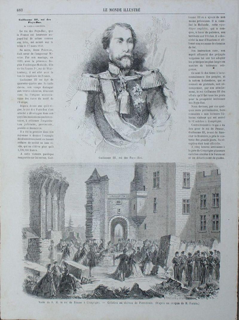 フランスのアンティーク新聞の女性の挿絵