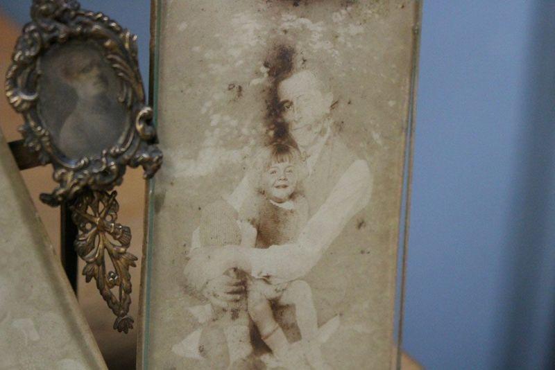 子供と父親の写真