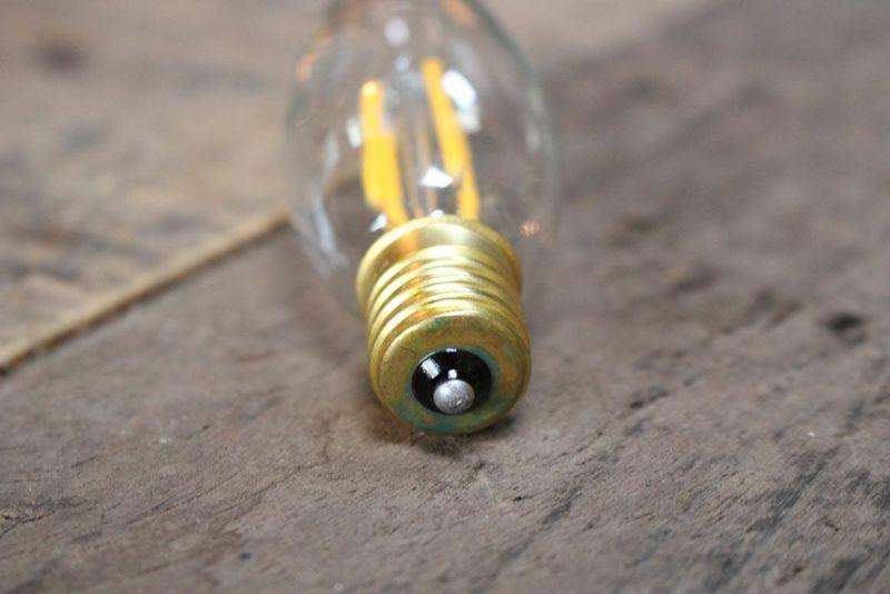 シャンデリア電球
