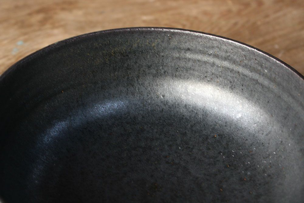 笠間焼【益子淳一】・しのぎ六寸鉢