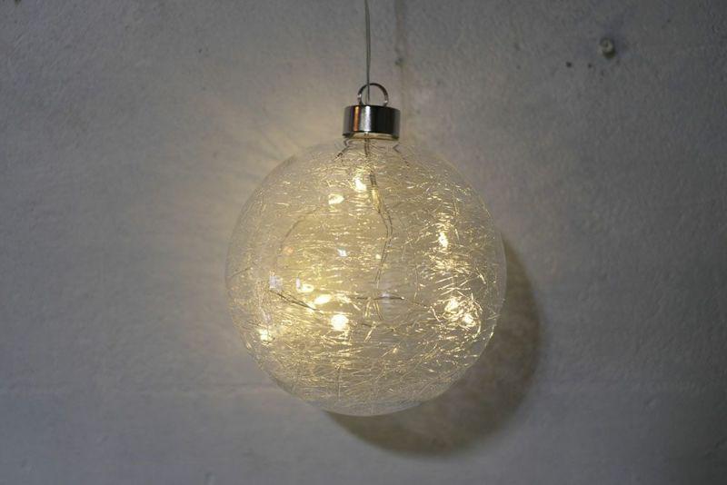 ガラス製の小さなライト