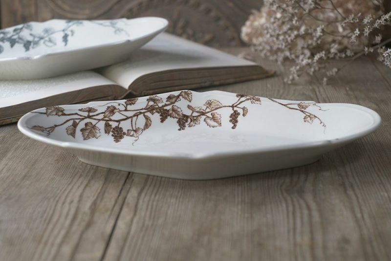 フランス料理の綺麗なお皿