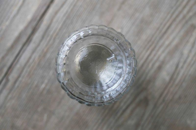 おしゃれなガラス製ボトル