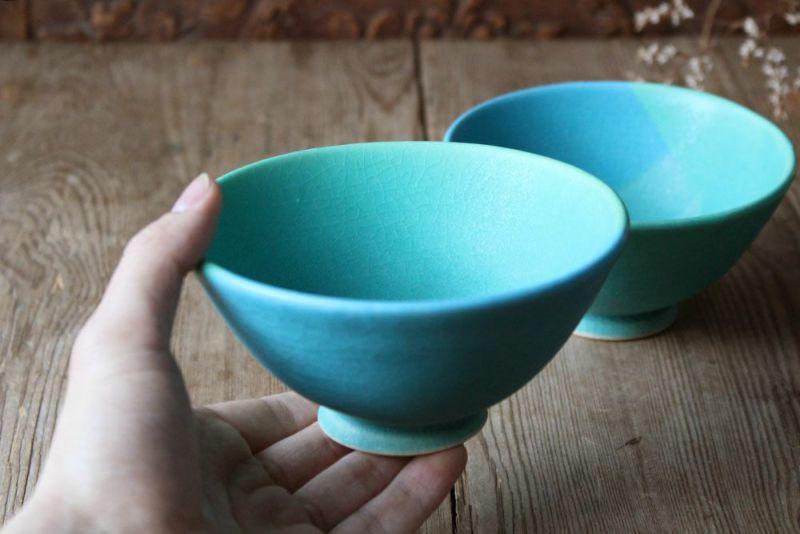 笠間焼の美しい茶碗
