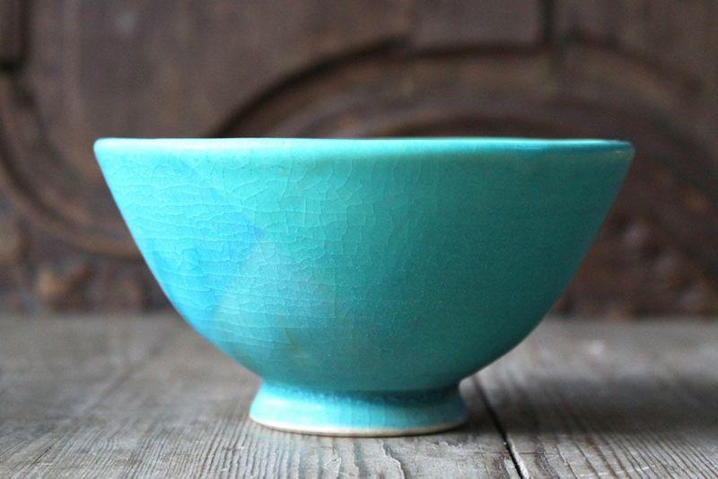 笠間焼の男性用の茶碗