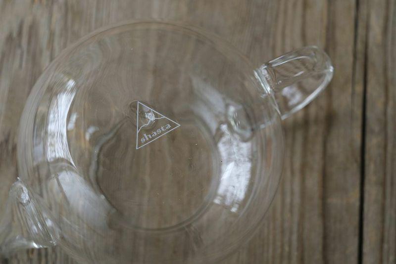 シャスタ耐熱ガラスティーポットのガラス