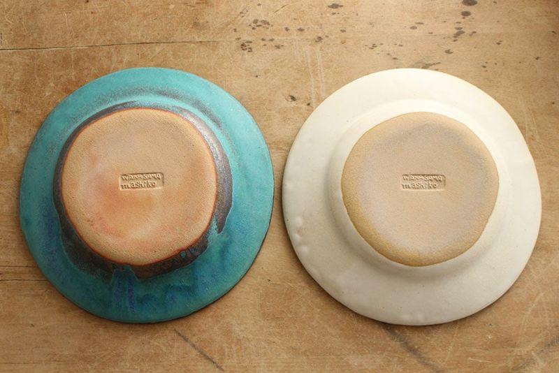 わかさま陶芸のリムプレート
