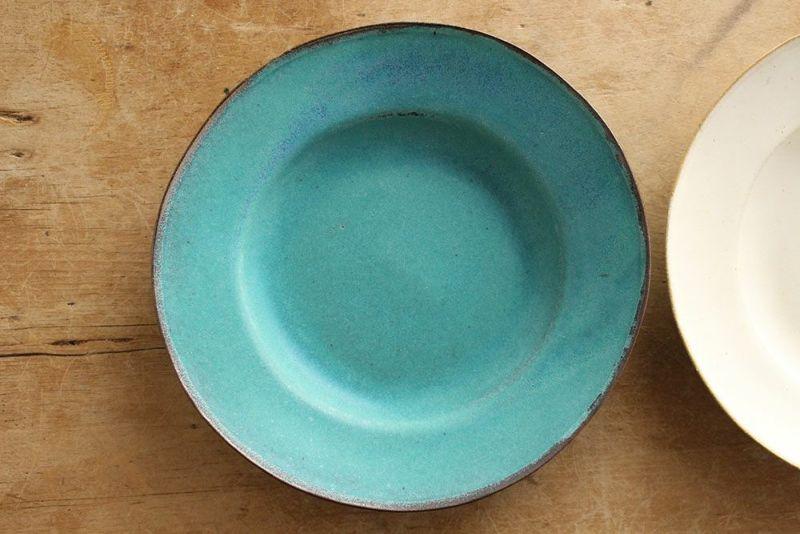 青色のおしゃれな食器