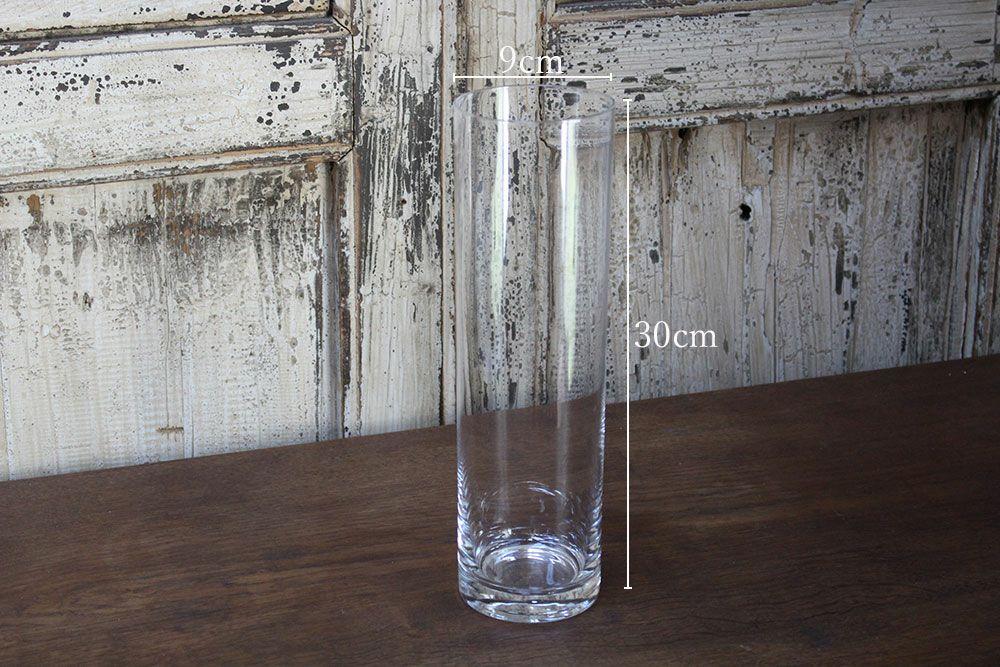 ボブシリンダー・フラワーベーススリム30cm