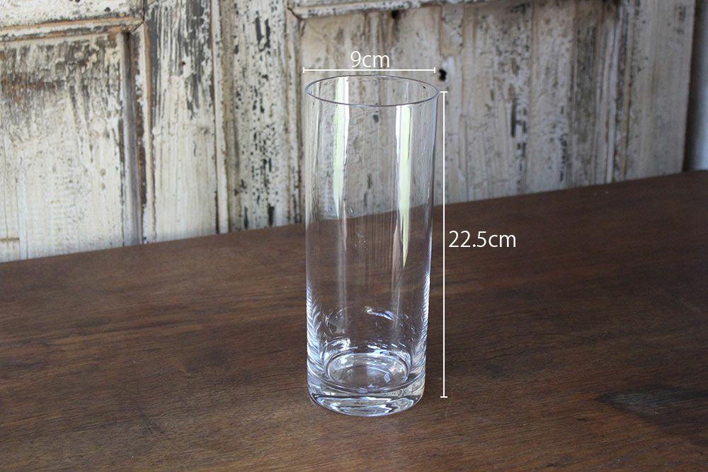ボブシリンダー・フラワーベーススリム22.5cm