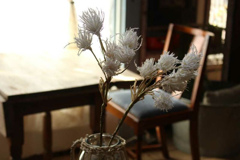 シロガネヨシ造花