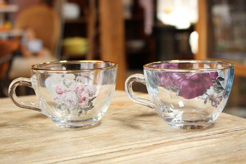 カップ&ソーサーガラス