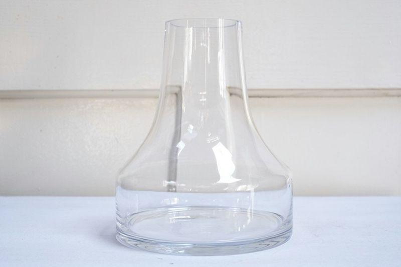 きれいなガラスシリンダーベース大